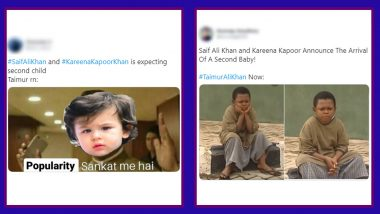 Taimur Funny Memes Go Viral After Kareena Kapoor and Saif Ali Khan Announce Pregnancy, Memers Get Busy Cracking Jokes on His Popularity Being at Risk With Arrival of New Child