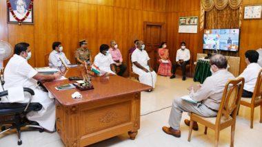 Edappadi K Palaniswami, Tamil Nadu CM, Seeks Rs 9,000 Crore Special Grant to Combat COVID-19 During Meeting With PM Narendra Modi