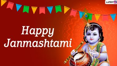 Janmashtami 2020 Greetings: Gokulashtami Wishes & Messages to Celebrate Lord Krishna's Birthday