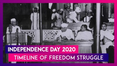 Independence Day 2020: From 1857 Revolt to End of Brtish Rule, Timeline of India's Freedom Struggle