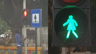 Mumbai's Dadar Area Incorporates Female Figures on Traffic Lights And Sign Boards to Depict Gender Equality, Aaditya Thackeray Applauds BMC