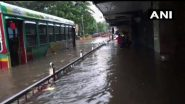 Mumbai Rains: Local Train Services Disrupted, BEST Bus Routes Diverted Due to Severe Waterlogging in Lower Parel And Other Areas