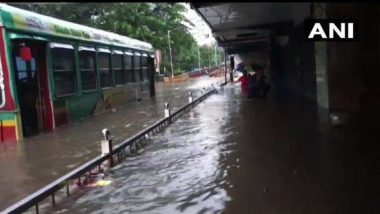 Mumbai Rains: Local Train Services Disrupted, BEST Bus Routes Diverted Due to Severe Waterlogging