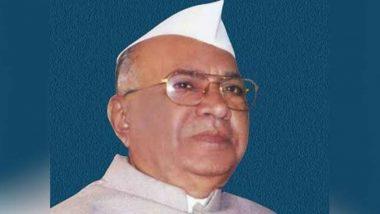 Shivajirao Patil Nilangekar, Former Maharashtra CM & Veteran Congress Leader, Dies in Pune