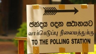 Sri Lanka General Election 2020: Voting Begins to Elect 225 Members for Sri Lanka's 16th Parliament Amid COVID-19 Pandemic