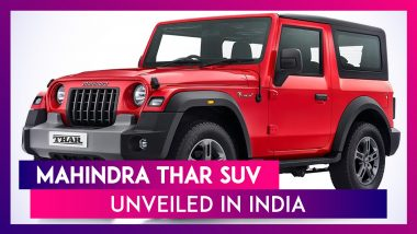 2020 Mahindra Thar Officially Unveiled in India; Expected Prices, Features, Variants & Specifications