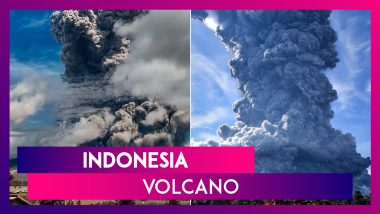Indonesia Volcano Mount Sinabung Erupts, Spews Smoke, Huge Ash Cloud 5,000 Metres Into The Air