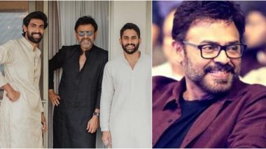 Rana Daggubati Celebrates 34 Years of  Victory Venkatesh in the Telugu Industry With a Special Post!