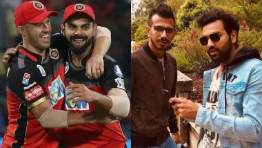 Friendship Day 2020: From Virat Kohli and AB de Villiers to Rohit Sharma and Yuzvendra Chahal, Top 5 Best Friends in World Cricket