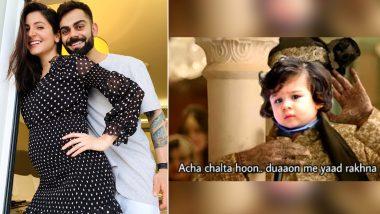 Virat Kohli and Anushka Sharma Announce Pregnancy, But Taimur Ali Khan Starts Trending On Twitter – Here's Why