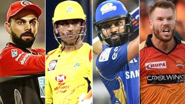 IPL 2020 Captains List: From MS Dhoni to Virat Kohli, Check Out Skippers of All 8 Teams in Indian Premier League 13