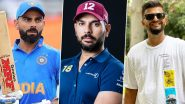 Happy Independence Day 2020 Greetings: Virat Kohli, Yuvraj Singh, Suresh Raina Lead Cricket Fraternity in Wishing Indians on Swatantrata Diwas