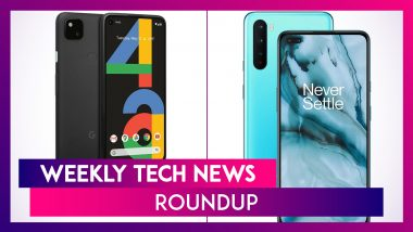 Weekly Tech Roundup: OnePlus Nord, Galaxy Note 20, Google Pixel 4a, Redmi 9 Prime & More