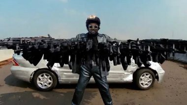 Black Eyed Peas' Action Music Video Drives Netizens Crazy As It Celebrates Indian Cinema With an Ode to Rajinikanth's Robot, Ajay Devgn's Singham and More