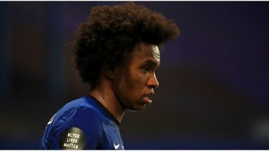 Chelsea Star Willian Reacts After Being Left Out of Squad for FA Cup 2019–20 Final Match Against Arsenal