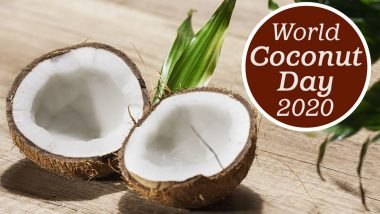 World Coconut Day 2020 Date And Theme: Know The Significance And History of Observance That Highlights Benefits of The Tropical Fruit