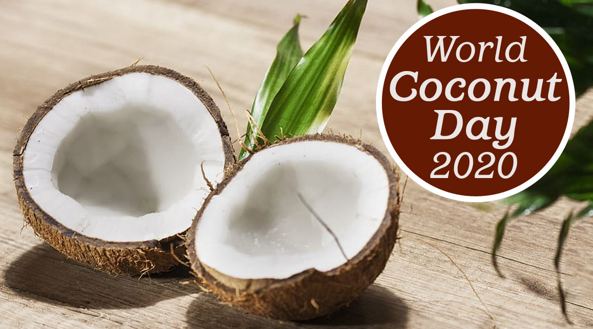 World Coconut Day 2020 Date And Theme: Know The Significance And History of Observance That Highlights Benefits of The Tropical Fruit | 🙏🏻 LatestLY