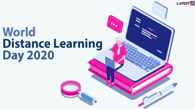 World Distance Learning Day 2020 Date And Significance: Know About the Observance That Promotes The Idea of Studying Outside Physical Classroom
