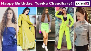 Yuvika Chaudhary Birthday Special: The Girl Next Door With a Cute Smile Is Also a Modest Fashionista!