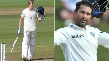 Wisden Cricket Highlights Interesting Stat of Sachin Tendulkar Following Zak Crawley's Double Century vs Pakistan, Fans Slam the Book Publication for 'Disrespecting' Master Blaster