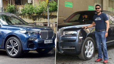 Ajay Devgn's Car Mania! From BMW X7 to Rolls Royce Cullinan, Check Out The Awesome Cars Tanhaji Actor Owns