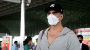 Akshay Kumar Leaves For Scotland With Family To Start Shooting Bell Bottom (Watch Video)