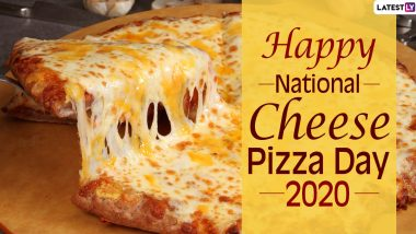 Cheese Pizza Day Images & HD Wallpapers for Free Download Online: Wish National Cheese Pizza Day 2020 With WhatsApp Messages and GIF Greetings