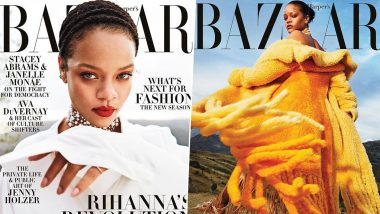 Rihanna Makes a Powerful Appearance On Cover Of Harper Bazaar US Magazine's September Issue (View Pics)