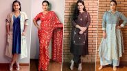 Vidya Balan's Style File for Shakuntala Devi's E Promotion Was All About Simplicity and Being Vocal for Local (View Pics)