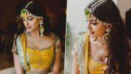 Rana Daggubati - Miheeka Bajaj Wedding: The Bride Picks a Stunning Yellow Ensemble for her Haldi Ceremony (View Pics)