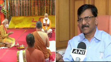 Ram Temple Bhumi Pujan in Ayodhya Fulfilment of Bal Thackeray's Dream, Says Sanjay Raut