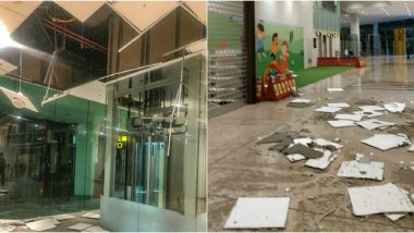 Islamabad International Airport's False Ceilings Falls Due to Heavy Rain