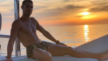 Amid Barcelona Transfer Rumours, Cristiano Ronaldo Shares Another Abs-Flaunting Pic With a Cryptic Caption!