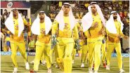 MS Dhoni & Team Get Into 'Habibi' Mode As Chennai Super Kings Gear Up For IPL 2020 (See Pic)
