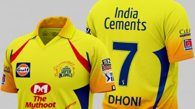 Official Chennai Super Kings IPL 2020 Jersey Online Available on thesouledstore.com
