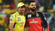 Royal Challengers Bangalore vs Chennai Super Kings, IPL 2020 Toss Report and Playing XI Update: CSK Hand Monu Kumar Debut As RCB Opt to Bat