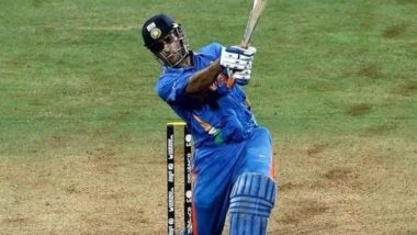 MS Dhoni 2011 World Cup Winning Six: MCA Proposes Naming a Seat at Wankhede Stadium After Former India Captain