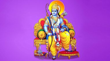 Shri Ram Images, HD Wallpapers and GIFS for Free Download Online: Celebrate Ayodhya Ram Mandir Bhumi Pujan with These Pics of Lord Rama