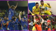 Most Followed IPL Team on Instagram: MI, CSK, RCB, KKR and Others, Here Are Rankings Of Indian Premier League 2020 Franchises Based on Followers