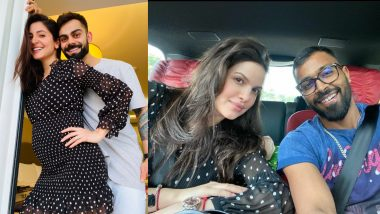 Anushka Sharma And Natasa Stankovic Wore The Same Black Polka Dotted Dress During Pregnancy And Internet S Obsessed With It See Pics Latestly
