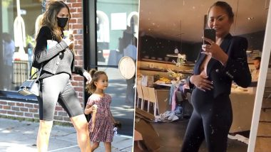 Chrissy Teigen is Pregnant Again and She Wasted No Time in Flaunting Her Baby Bump (View Pics)