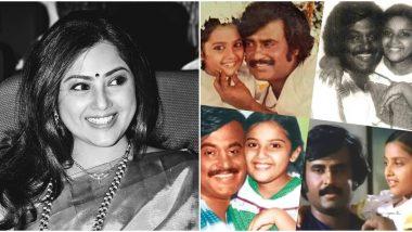 Annaatthe Actress Meena Shares Memories Of Working With Rajinikanth As A Child Artist