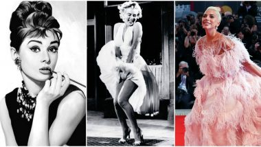 World Fashion Day 2020: From Audrey Hepburn to Lady Gaga - a Look at Hollywood's Fashion Icons (View Pics)