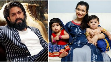 Janmashtami 2020: KGF Actor Yash And Radhika Pandit Share Adorable Pics Of Their Kids And Wish Fans On The Auspicious Occasion