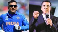MS Dhoni Retires: When Akshay Kumar Wanted to Play Legendary Indian Cricket Captain in His Biopic But Neeraj Pandey Refused!