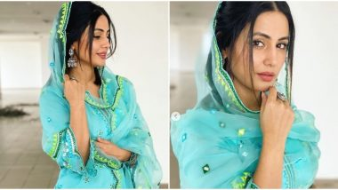 Eid Al-Adha 2020: Hina Khan Paints a Beautiful Picture With her Traditional Ensemble (View Pics)