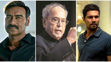 Pranab Mukherjee Dies at 84: Ajay Devgn, Randeep Hooda, Riteish Deshmukh Condole the Death (Read Tweets)