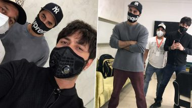 'Stylish' Ranbir Kapoor Is Back On The Sets Post COVID-19 Break! (View Pics)