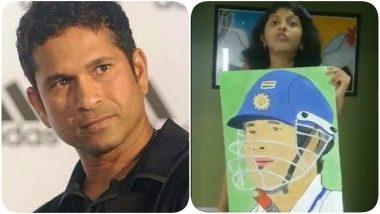 Sachin Tendulkar Thanks a Little Fan For a Beautiful Painting, Shares a Tweet on Social Media