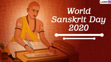 Happy Sanskrit Diwas 2020 Wishes and HD Images: Celebrate World Sanskrit Day With WhatsApp Messages, Facebook Photos With Quotes, SMS and Greetings!
